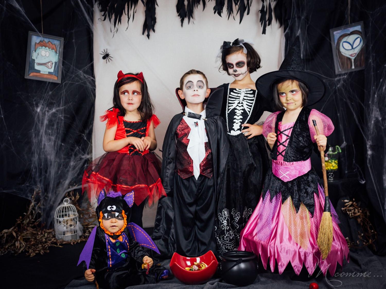 5 Idees De Deguisements Et Maquillages Enfants Pour Halloween